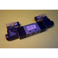 Fastek USA Solenoid Valve N4V-130E-06, 1/8 NPT, Double Solenoid, 3 Pos. Exh. Center, specify voltage, 4V130E-06