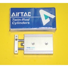 Airtac Cylinder TR10X10S, Compact Cylinder 10MM Bore X 10MM Stroke, Double Rod