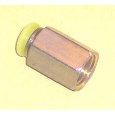 Fastek USA Female Connector, JPG1/4-N02, 1/4 NPT Thread to 1/4 tube