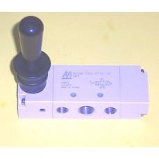 Mindman Lever Valve Model MVHB-220-4TVC-SP-M-NPT, 1/4 NPT