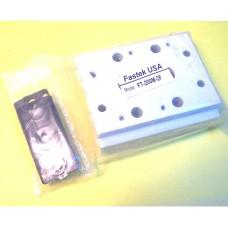 Fastek USA Valve Manifold, 200M-2F, 2 Station Manifold, N4V-200 Series
