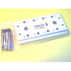 Fastek USA Valve Manifold, 200M-4F, 4 Station Manifold, N4V-200 Series