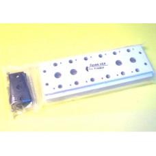 Fastek USA Valve Manifold, 200M-6F, 6 Station Manifold, N4V-200 Series