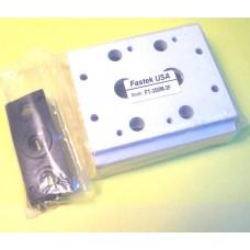 Fastek USA Valve Manifold, 300M-2F, 2 Station Manifold, N4V-300 Series