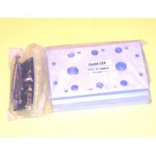 Fastek USA Valve Manifold, 200M-3F, 3 Station Manifold, N4V-200 Series
