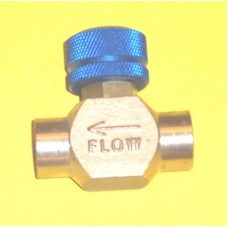 National Valve Shut Off Valve Model 9432B-2FF, 1/4 NPT, Hyson 11-770-0500