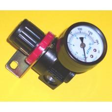 Fastek USA Regulator AR2000-01, 1/8 NPT includes Bracket and Gage