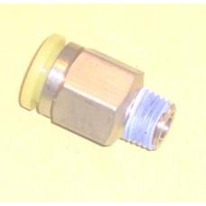 Fastek USA Male Connector, JPC1/2-N03, 3/8 NPT Thread to 1/2 tube