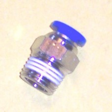 Fastek USA Male Connector, JPC1/4-N01, 1/8 NPT Thread to 1/4 tube