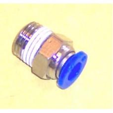 Fastek USA Male Connector, JPC1/4-N03, 3/8 NPT Thread to 1/4 tube