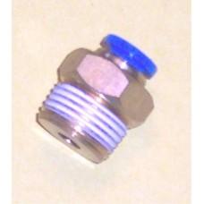 Fastek USA Male Connector, JPC1/4-N04, 1/2 NPT Thread to 1/4 tube