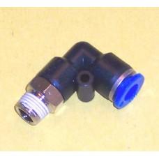 Fastek USA Male Elbow, JPL3/8-N03, 3/8 NPT Thread to 3/8 tube
