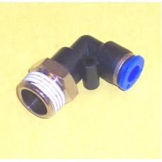 Fastek USA Male Elbow, JPL1/4-N03, 3/8 NPT Thread to 1/4 tube