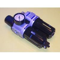 Mindman FRL, MACP300-10A-NPT, 3/8 NPT Filter/Regulator w/Lubricator