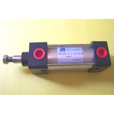 "Mindman Cylinder MCQN-11-1.1/2-2M, NFPA Interchangeable 1 1/2 bore X 2"" stroke"