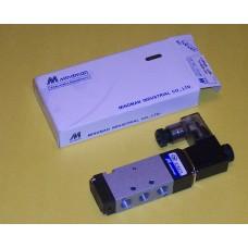 Mindman Solenoid Valve MVSC-180-4E1-AC220V, Single Solenoid, 220 VAC