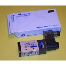 Mindman Solenoid Valve MVSC-260-4E1, 4-way, Single Solenoid, specify voltage