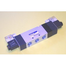 Fastek USA Solenoid Valve N4V-430E-15, 1/2 NPT, Double Solenoid, 3 Pos. Exh. Center, specify voltage, 4V430E-15